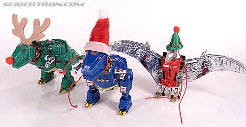 Smallest Transformers G2 Grimlock (Green) (Reindeer Commander) (Image #20 of 61)