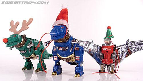 Smallest Transformers G2 Grimlock (Green) (Reindeer Commander) (Image #21 of 61)
