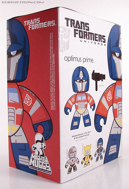 Transformers Mighty Muggs Optimus Prime (Convoy) (Image #10 of 44)