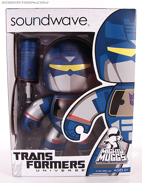 Transformers Mighty Muggs Soundwave (Image #1 of 47)