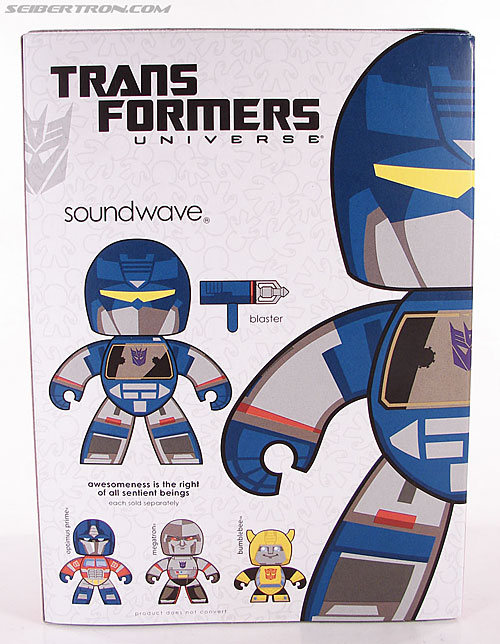 Transformers Mighty Muggs Soundwave (Image #6 of 47)