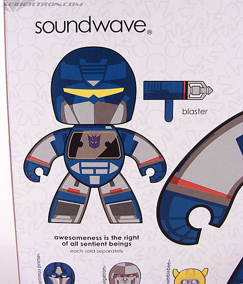 Transformers Mighty Muggs Soundwave (Image #7 of 47)