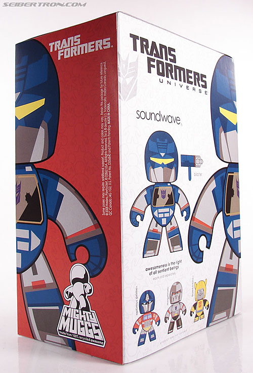 Transformers Mighty Muggs Soundwave (Image #9 of 47)