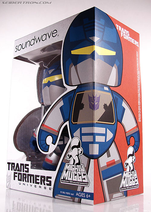 Transformers Mighty Muggs Soundwave (Image #11 of 47)