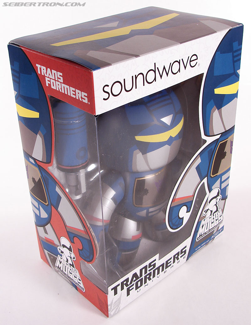Transformers Mighty Muggs Soundwave (Image #3 of 47)