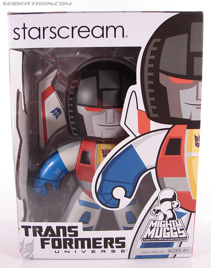 Transformers Mighty Muggs Starscream (Image #1 of 44)