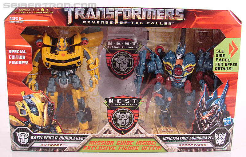 Transformers Revenge of the Fallen Battlefield Bumblebee (Image #1 of 205)
