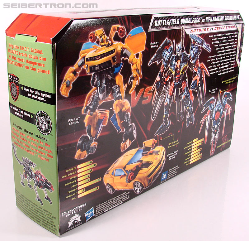 Transformers Revenge of the Fallen Battlefield Bumblebee (Image #20 of 205)