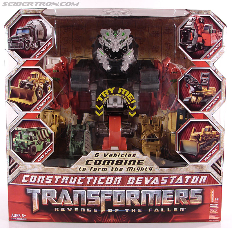 Transformers Revenge of the Fallen Devastator (Image #1 of 163)