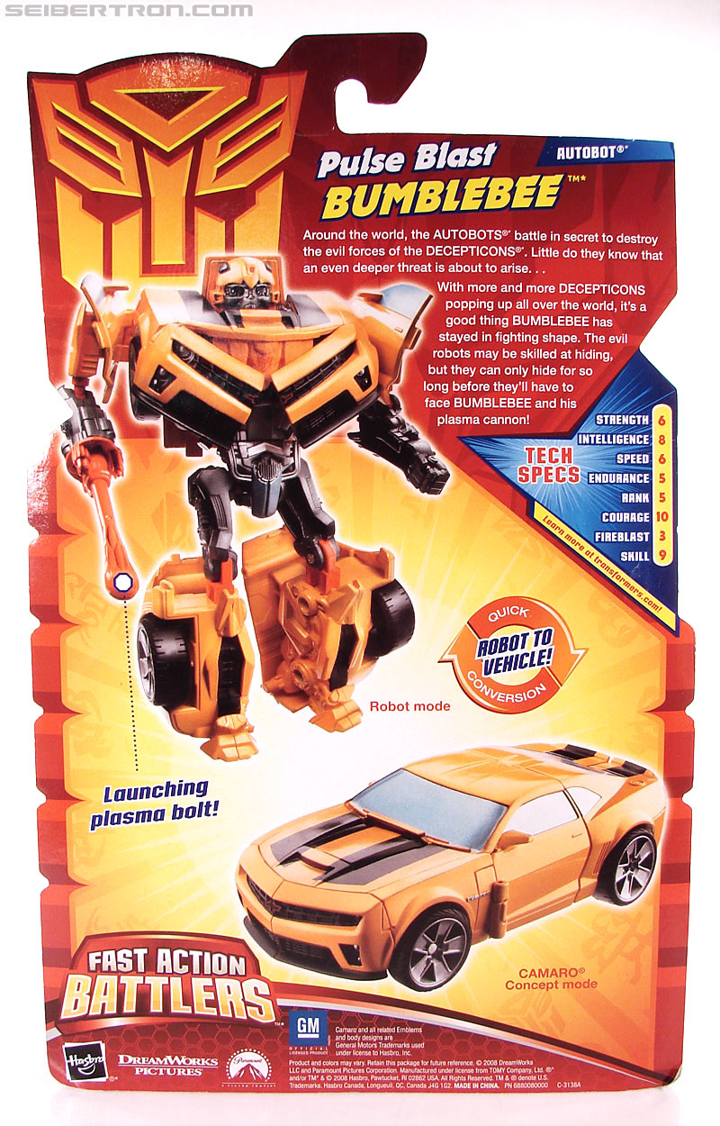 Transformers Revenge of the Fallen Pulse Blast Bumblebee (Image #8 of 83)