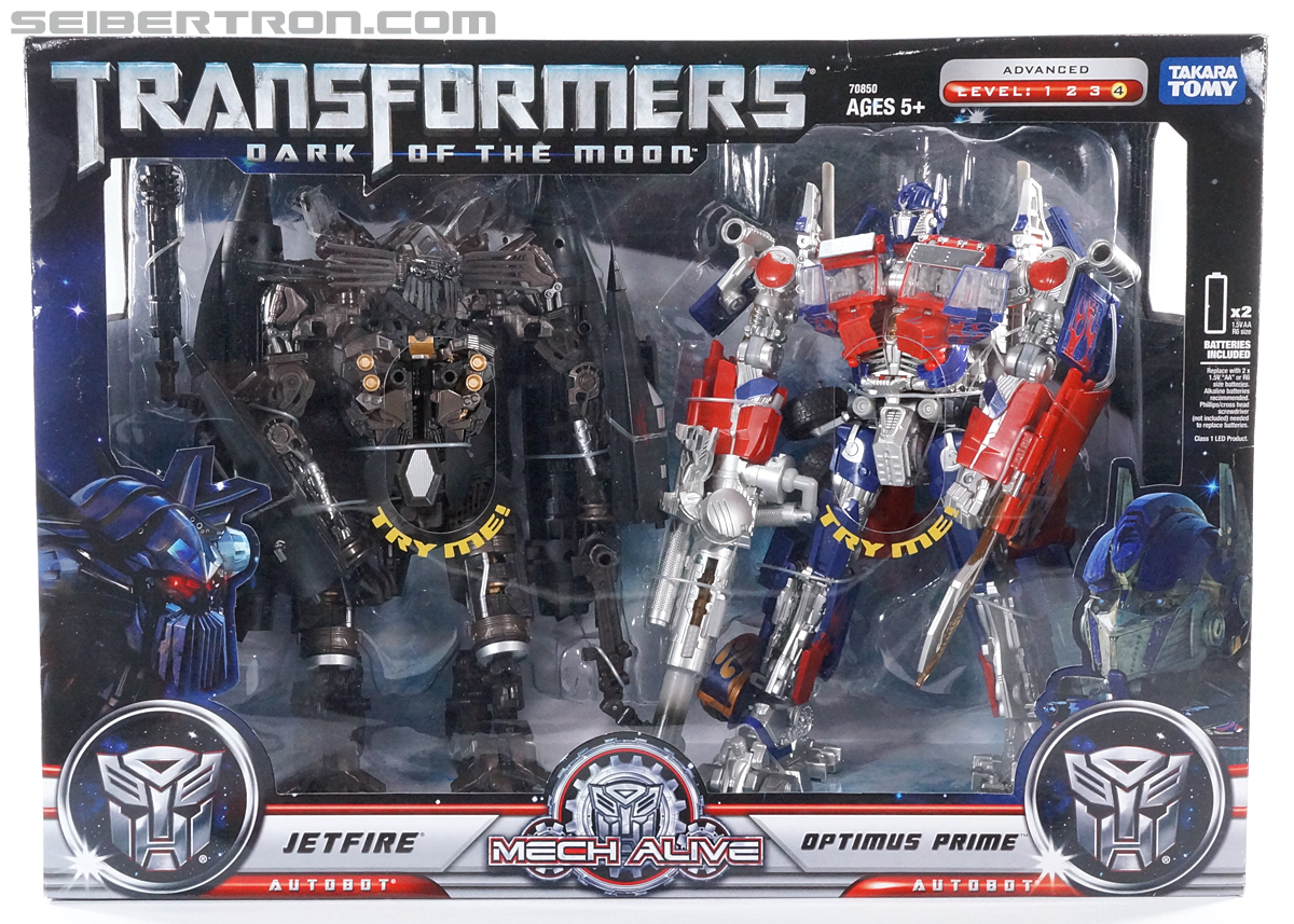 Transformers Revenge of the Fallen Jetpower Optimus Prime (Jetpower 2-pack) (Reissue) (Image #1 of 110)