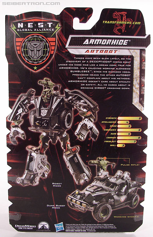 Transformers Revenge of the Fallen Armorhide (Image #8 of 89)