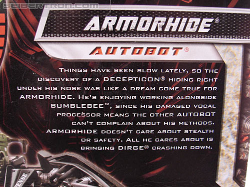 Transformers Revenge of the Fallen Armorhide (Image #9 of 89)