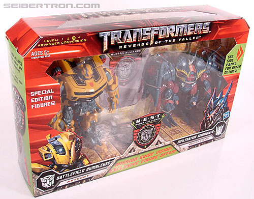 Transformers Revenge of the Fallen Battlefield Bumblebee (Image #11 of 205)