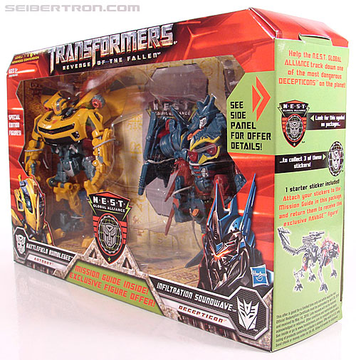 Transformers Revenge of the Fallen Battlefield Bumblebee (Image #26 of 205)