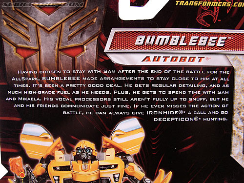 Transformers Revenge of the Fallen Bumblebee (Image #9 of 133)