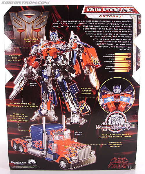 Transformers Revenge of the Fallen Buster Optimus Prime (Image #8 of 218)