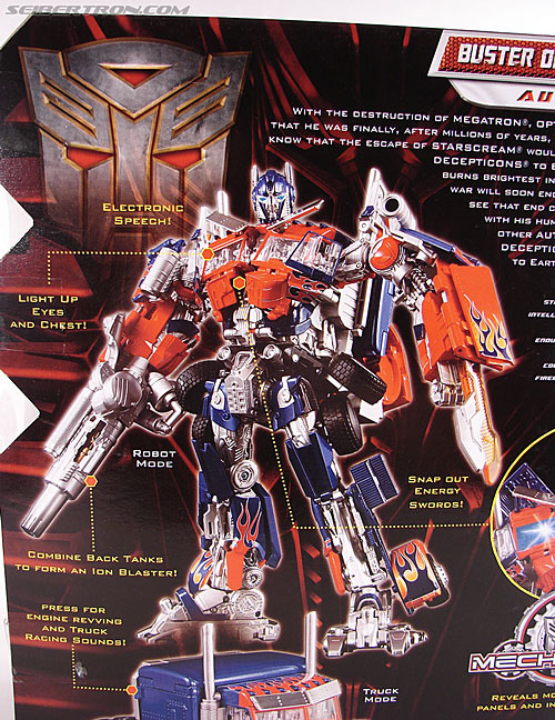 Transformers Revenge of the Fallen Buster Optimus Prime (Image #9 of 218)