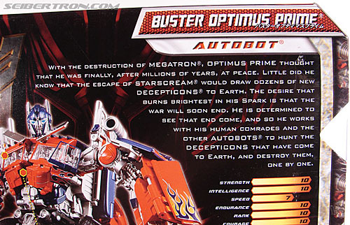 Transformers Revenge of the Fallen Buster Optimus Prime (Image #10 of 218)
