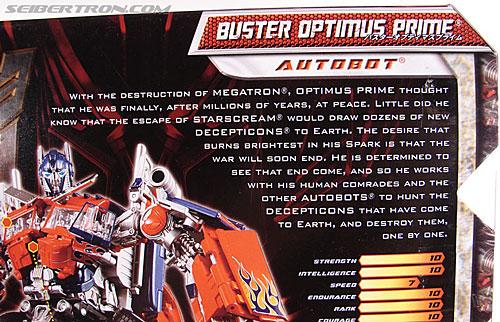 Transformers Revenge of the Fallen Buster Optimus Prime (Image #10 of 218)