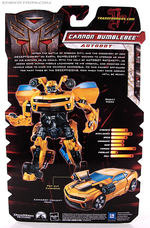 Transformers Revenge of the Fallen Cannon Bumblebee (Image #6 of 145)