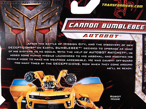 Transformers Revenge of the Fallen Cannon Bumblebee (Image #7 of 145)
