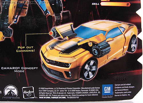 Transformers Revenge of the Fallen Cannon Bumblebee (Image #10 of 145)