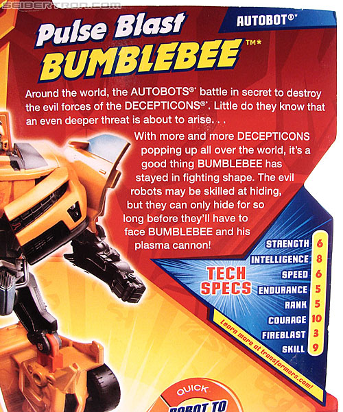 Transformers Revenge of the Fallen Pulse Blast Bumblebee (Image #9 of 83)