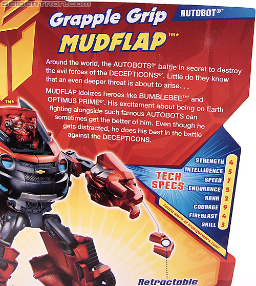 Transformers Revenge of the Fallen Grapple Grip Mudflap (Image #7 of 81)