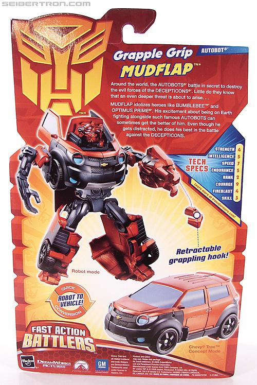 Transformers Revenge of the Fallen Grapple Grip Mudflap (Image #8 of 81)