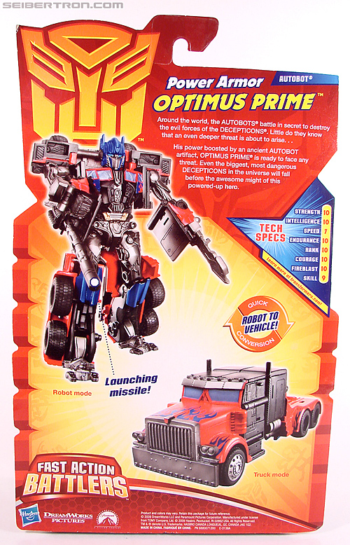 Transformers Revenge of the Fallen Power Armor Optimus Prime (Image #7 of 88)