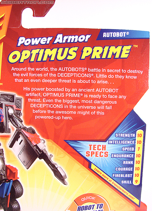 Transformers Revenge of the Fallen Power Armor Optimus Prime (Image #9 of 88)