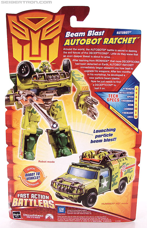 Transformers Revenge of the Fallen Beam Blast Ratchet (Image #7 of 90)