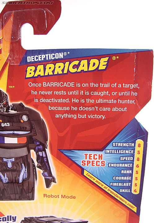 Transformers Revenge of the Fallen Barricade (Image #6 of 76)