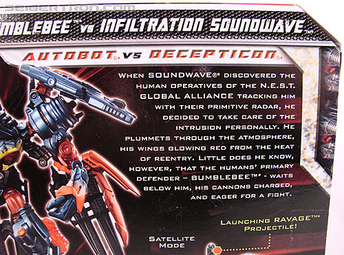 Transformers Revenge of the Fallen Infiltration Soundwave (Image #7 of 140)