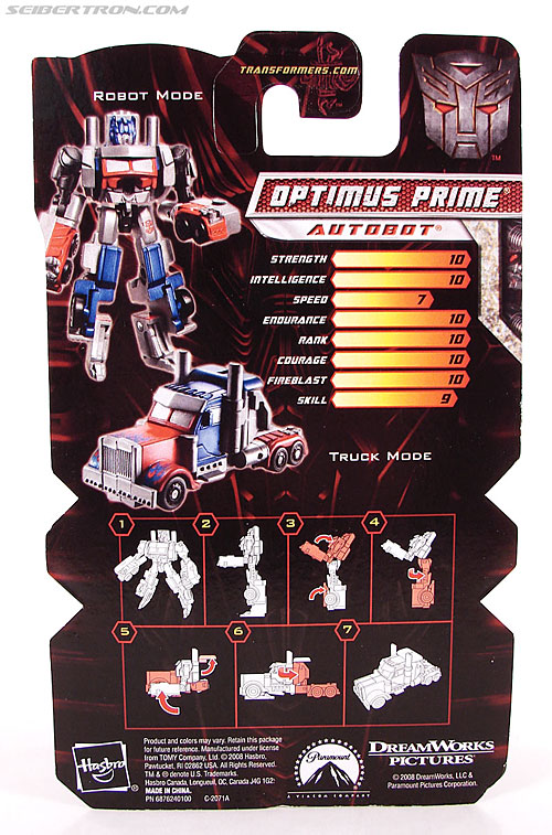 Transformers Revenge of the Fallen Optimus Prime (Image #5 of 79)