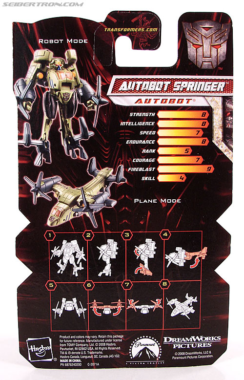 Transformers Revenge of the Fallen Springer (Image #5 of 57)