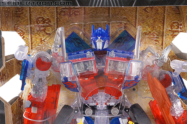 Transformers Revenge of the Fallen Optimus Prime Limited Clear Color Edition (Image #2 of 125)