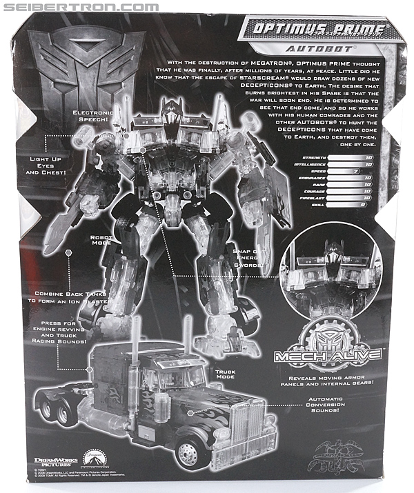 Transformers Revenge of the Fallen Optimus Prime Limited Clear Color Edition (Image #9 of 125)