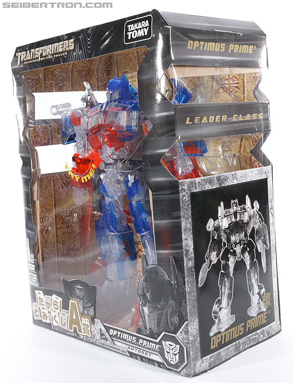 Transformers Revenge of the Fallen Optimus Prime Limited Clear Color Edition (Image #13 of 125)
