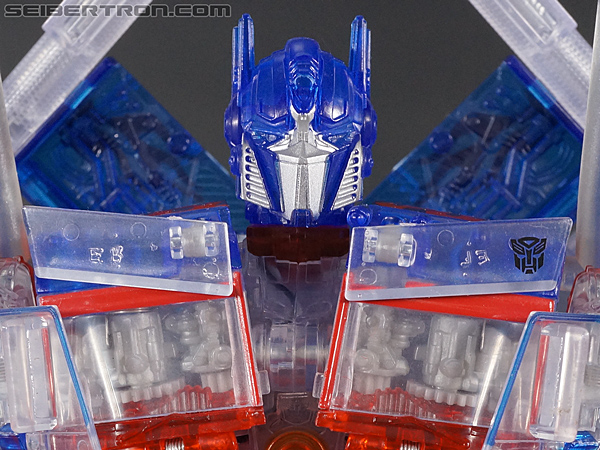 Transformers Revenge of the Fallen Optimus Prime Limited Clear Color Edition gallery