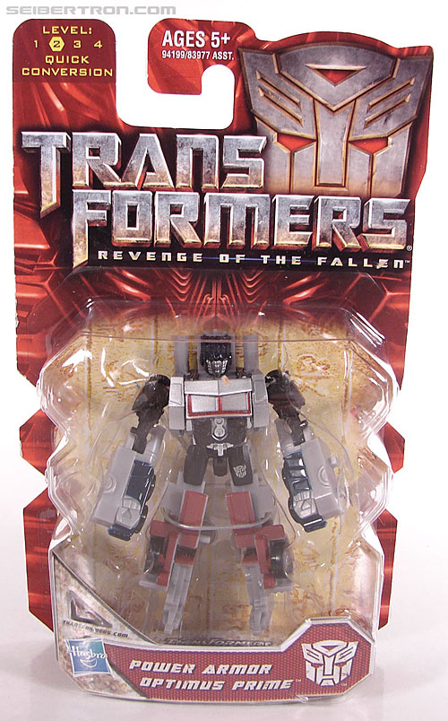 Transformers Revenge of the Fallen Power Armor Optimus Prime (Image #1 of 96)