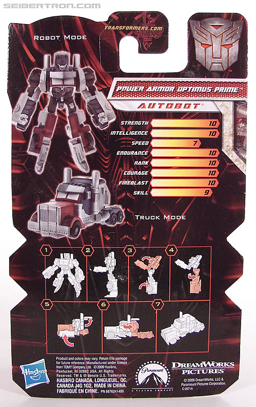 Transformers Revenge of the Fallen Power Armor Optimus Prime (Image #5 of 96)