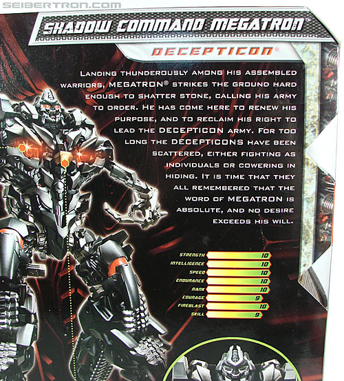Transformers Revenge of the Fallen Shadow Command Megatron (Image #13 of 131)
