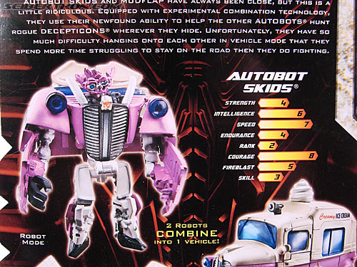 Transformers Revenge of the Fallen Skids (Ice Cream Truck) (Image #9 of 96)