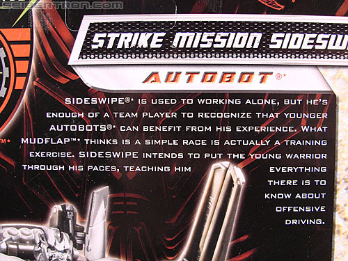 Transformers Revenge of the Fallen Strike Mission Sideswipe (Image #9 of 111)