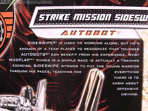 Transformers Revenge of the Fallen Strike Mission Sideswipe (Image #9 of 111)