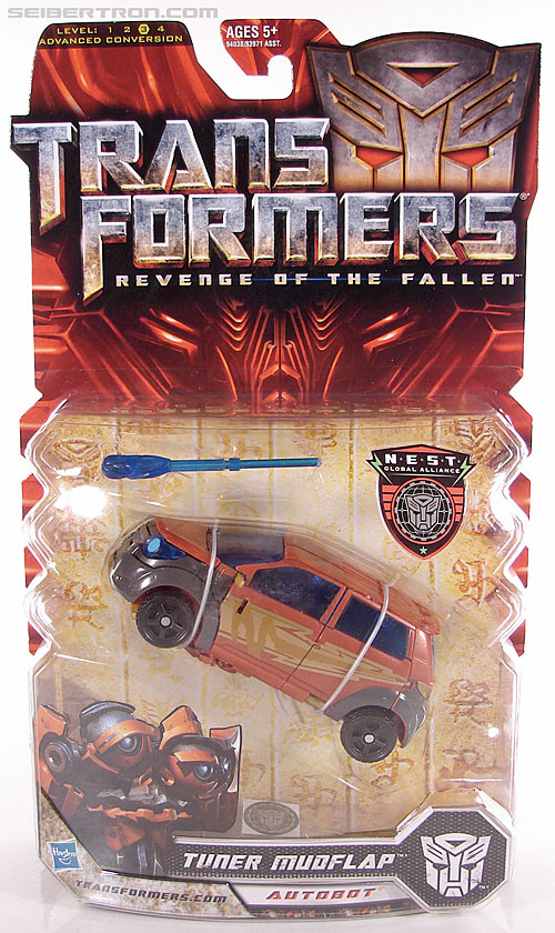 Transformers Revenge of the Fallen Tuner Mudflap (Image #1 of 89)