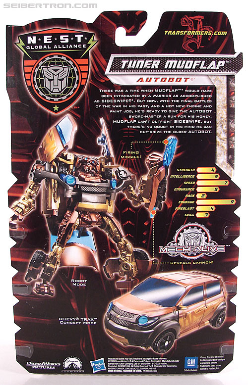 Transformers Revenge of the Fallen Tuner Mudflap (Image #8 of 89)
