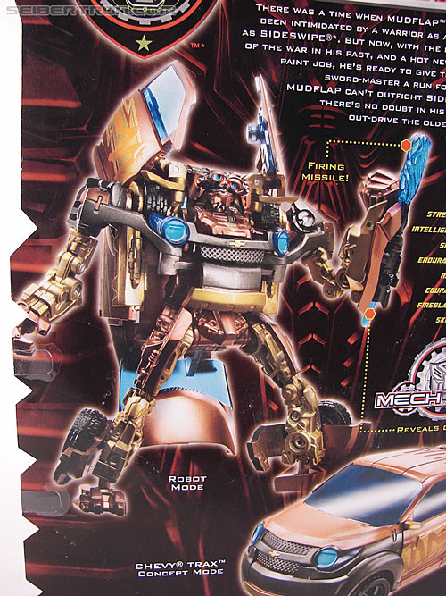 Transformers Revenge of the Fallen Tuner Mudflap (Image #10 of 89)